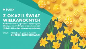 Życzenia od Prezydenta Miasta Płocka